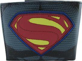 Batman v Superman Heroes Logos Side Bifold Wallet