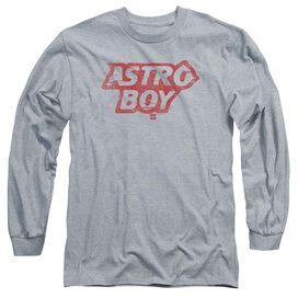 Astro Boy Logo Long Sleeve Adult Athletic T-Shirt
