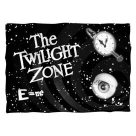 Twilight Zone Another Dimension Pillow Case White