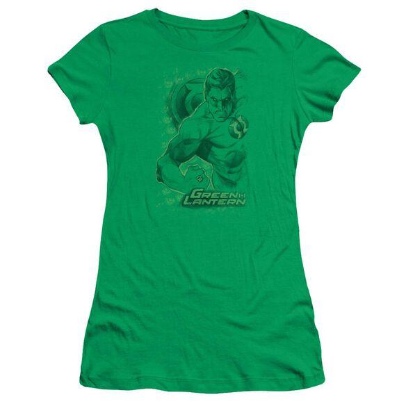 Dc Pencil Energy Short Sleeve Junior Sheer Kelly T-Shirt