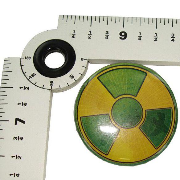 Incredible Hulk Symbol Button Fye