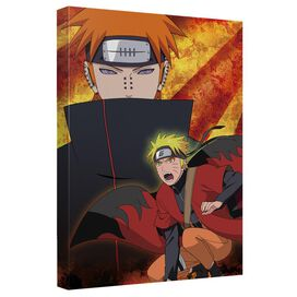 Naruto Shippuden Pain Canvas Wall Art With Back Board