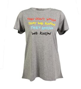 Friends - They Don't Know Women's T-Shirt
