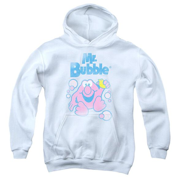 Mr Bubble 80 S Logo Youth Pull Over Hoodie