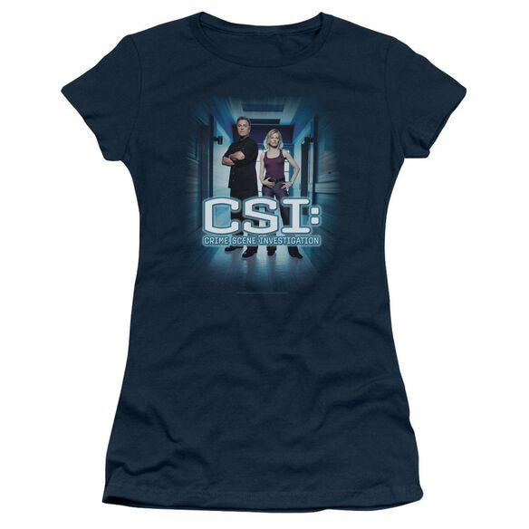 Csi Serious Business Short Sleeve Junior Sheer T-Shirt