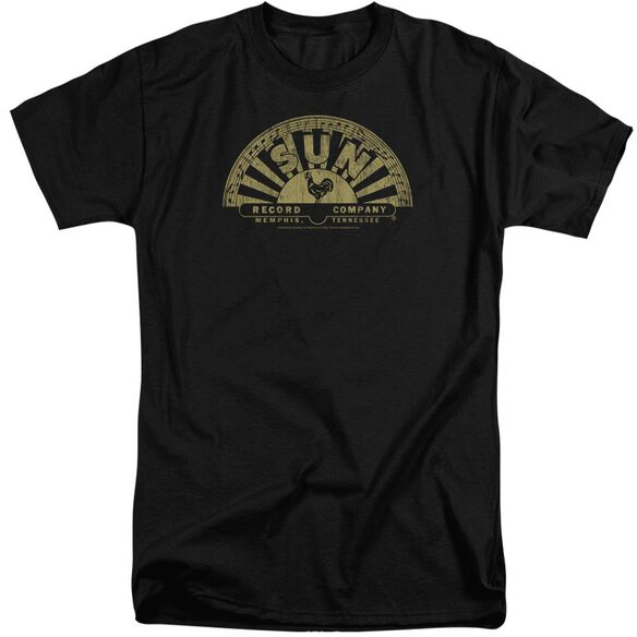 Sun Tattered Logo Short Sleeve Adult Tall T-Shirt