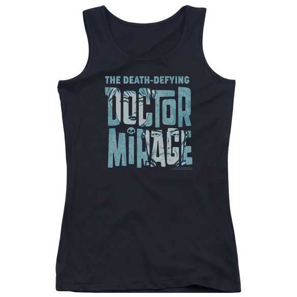 Doctor Mirage Character Logo Juniors Tank Top