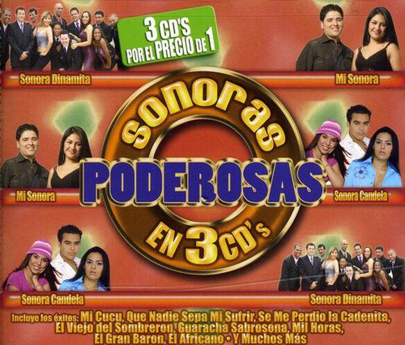 Sonoras Poderosas En 3 CDs/ Various - Sonoras Poderosas en 3 CDS