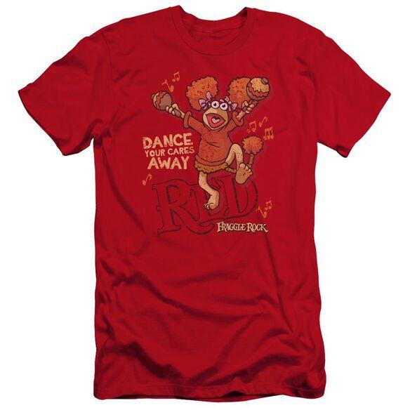 Fraggle Rock Dance Premuim Canvas Adult Slim Fit