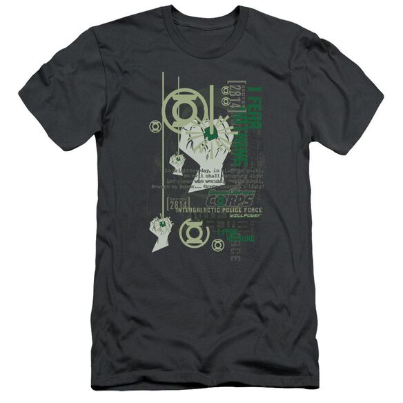 Green Lantern Core Strength Short Sleeve Adult T-Shirt