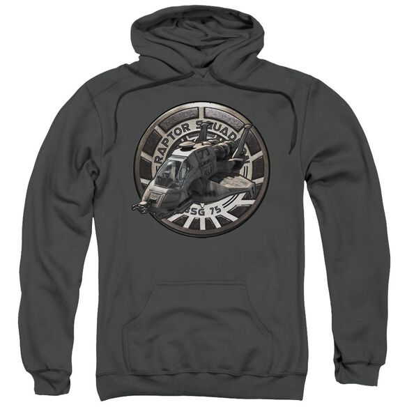 Bsg Raptor Squadron Adult Pull Over Hoodie