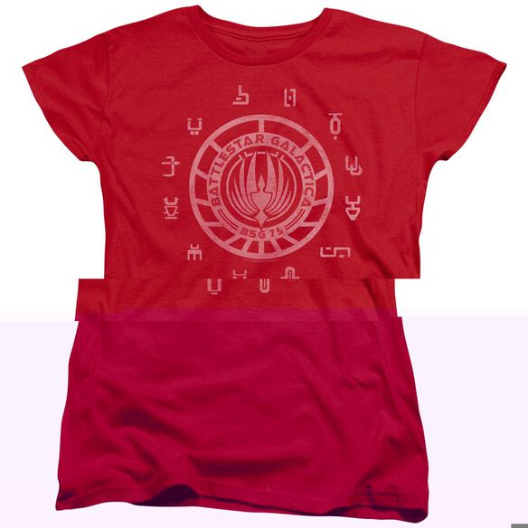 BSG COLONIES - S/S WOMENS TEE - RED T-Shirt