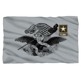 Army Union Fleece Blanket