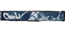 Street Fighter Chun-Li Blue Seatbelt Belt