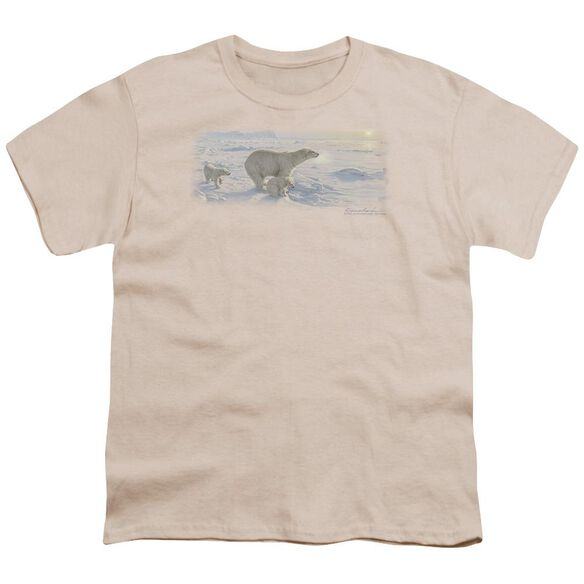 Wildlife On The Edge Short Sleeve Youth T-Shirt