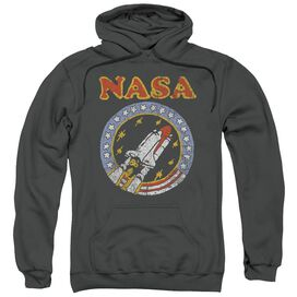 Nasa Retro Shuttle Adult Pull Over Hoodie