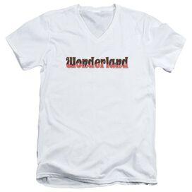 Zenoscope Wonderland Logo Short Sleeve Adult V Neck T-Shirt