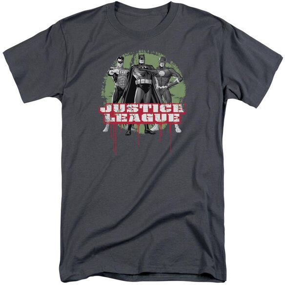 Jla Jla Trio Short Sleeve Adult Tall T-Shirt