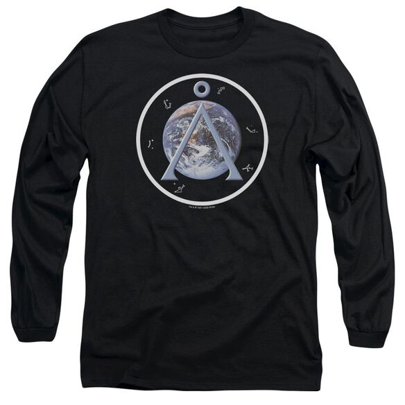 Sg1 Earth Emblem Long Sleeve Adult T-Shirt