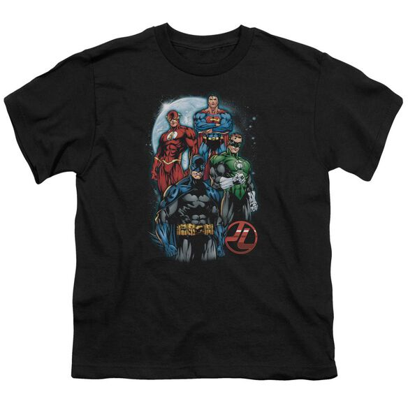 Jla The Four Short Sleeve Youth T-Shirt