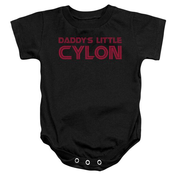 Bsg Daddy's Little Cylon Infant Snapsuit Black Xl