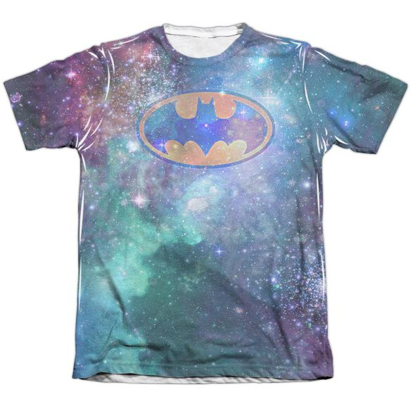 Batman Galaxy Symbol Adult Poly Cotton Short Sleeve Tee T-Shirt
