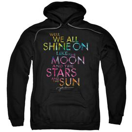 John Lennon All Shine On Adult Pull Over Hoodie