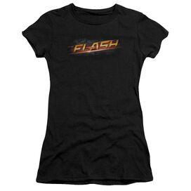 The Flash Logo Short Sleeve Junior Sheer T-Shirt