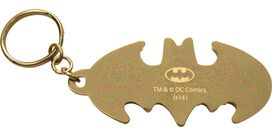 Joker Laughter Batman Logo Metal Keychain