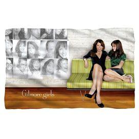 Gilmore Girls Couch Fleece Blanket
