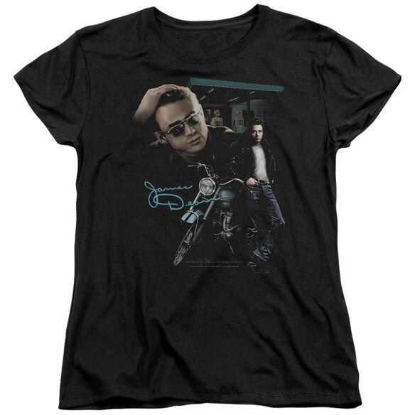 Dean Pit Stop Short Sleeve Womens Tee T-Shirt