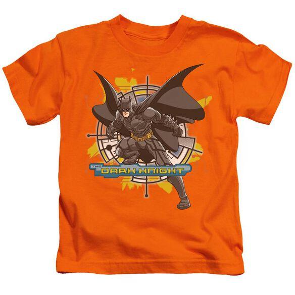 Dark Knight Wired In Short Sleeve Juvenile Orange T-Shirt