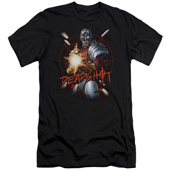 Jla Deadshot Short Sleeve Adult T-Shirt