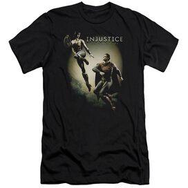 Injustice Gods Among Us Battle Of The Gods Short Sleeve Adult T-Shirt