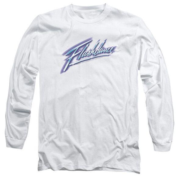 Flashdance Logo Long Sleeve Adult T-Shirt
