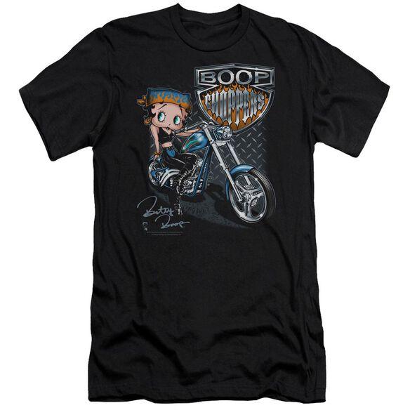 Betty Boop Choppers Short Sleeve Adult T-Shirt