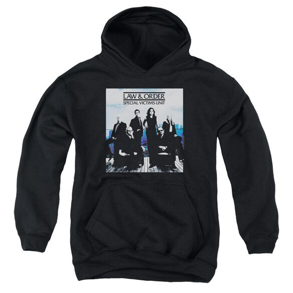 Law And Order Svu Crew 13 Youth Pull Over Hoodie