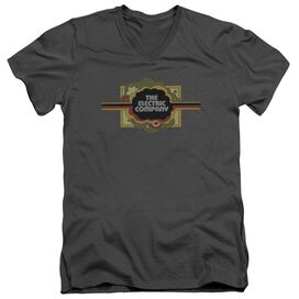 Electric Company Logo Short Sleeve Adult V Neck T-Shirt