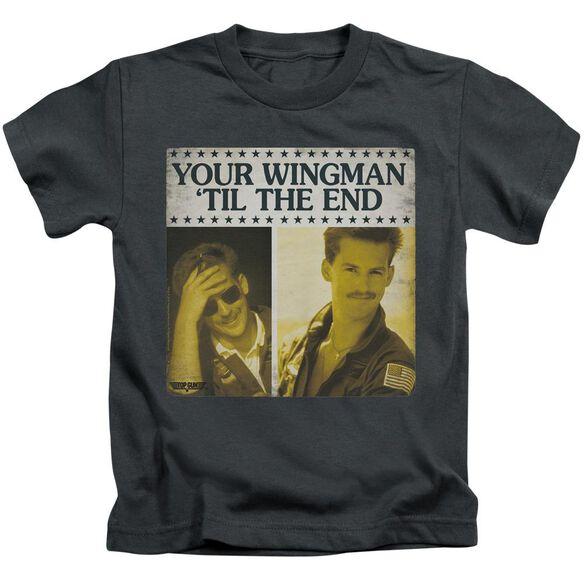 Top Gun Til The End Short Sleeve Juvenile T-Shirt