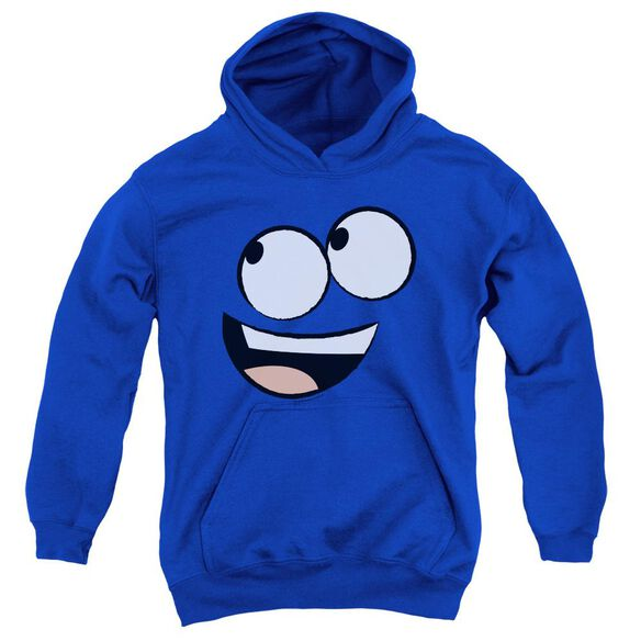 Fosters Blue Face Youth Pull Over Hoodie