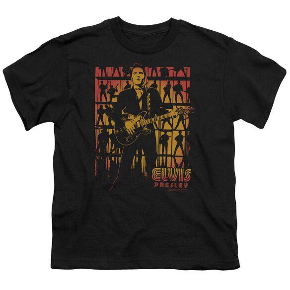 Elvis Comeback Spotlight Short Sleeve Youth T-Shirt