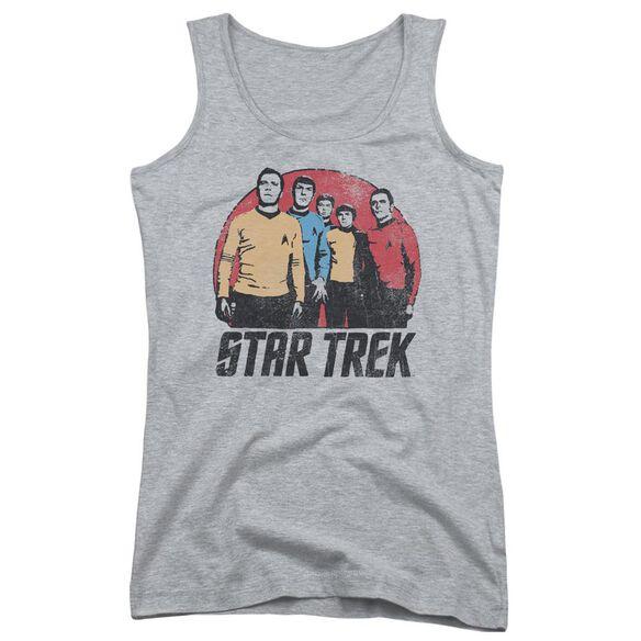 Star Trek Landing Party Juniors Tank Top Athletic