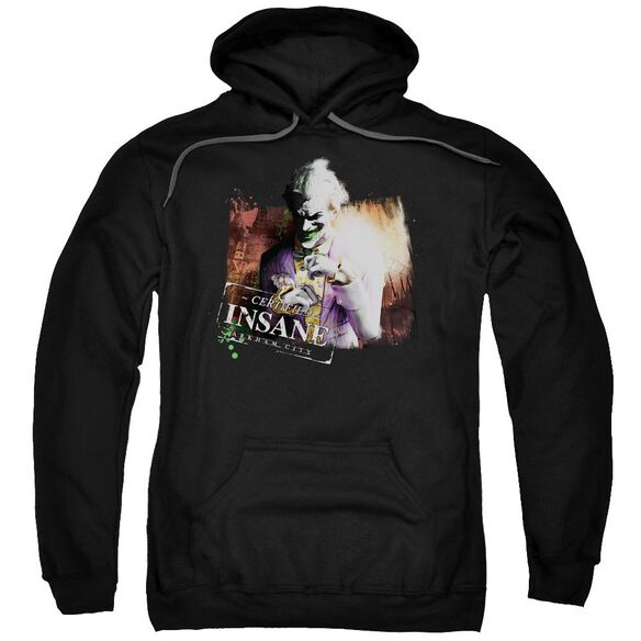 Arkham City Certified Insane Adult Pull Over Hoodie