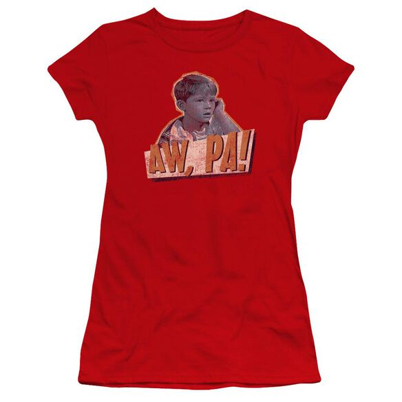 Andy Griffith Aw Pa Premium Bella Junior Sheer Jersey