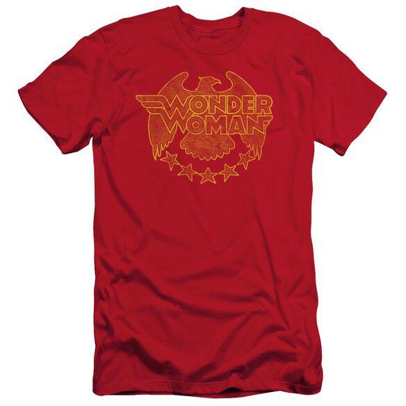 Dc Wonder Eagle Short Sleeve Adult T-Shirt