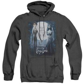 Corpse Bride Poster - Adult Heather Hoodie - Black