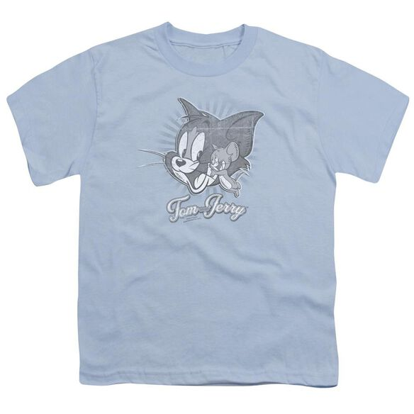 Tom And Jerry Classic Pals Short Sleeve Youth Light T-Shirt