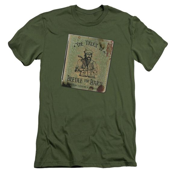 Harry Potter Beedle The Bard Short Sleeve Adult Military T-Shirt