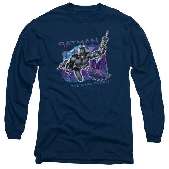 Dark Knight Knight Mission Long Sleeve Adult T-Shirt