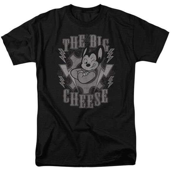 Mighty Mouse The Big Cheese Short Sleeve Adult T-Shirt